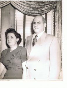 1933 - Charles and Elizabeth Catalana Formal Photo