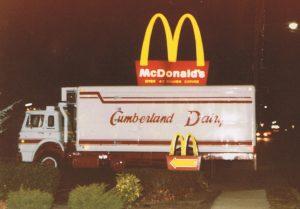 Cumberland Dairy Truck at McDonalds5